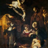 Dette billede af den italienske maler Caravaggio blev i 1969 stjålet fra en kirke i Palermo. I en hidtil ukendt filmoptagelse fortæller kirkens daværende præst, at den sicilianske mafia stod bag tyveriet og - som ved en kidnapning - forsøgte at afpresse kirken.