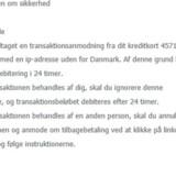 En svindelmail bliver sendt til adskillige danskere, der dog opfordres til at slette beskeden med det samme. Free