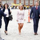 Nye Borgerliges Pernille Vermund. Folketingets medlemmer ankommer til gudstjeneste i Christiansborg Slotskirke, tirsdag den 1. oktober 2019. (Foto: Martin Sylvest/Ritzau Scanpix 2019)