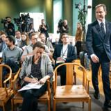 Finansminister Nicolai Wammen (S) blev på pressemødet for regeringens finanslovudspil flere gange spurgt om kritik fra erhvervslivet. Men ifølge finansministeren skal erhvervslivet huske på særligt to investeringer i planen.