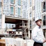 Hans-Bo Hylding er ny på listen over Danmarks 100 rigeste. Han er direktør og medejer af ejendomsprojektmageren FB Gruppen, som blandt andet har bygget Grøntorvet i Valby. Hans-Bo Hyldig stryger ind på en 91.-plads.