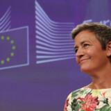 Margrethe Vestager skal tirsdag eftermiddag igennem sin høring i Bruxelles.