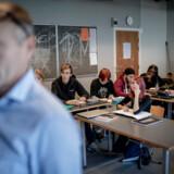 »Der er meget stor enighed blandt matematiklærerne om tilstanden for matematik på B-niveau på STX. Lærerne opfatter tilstanden som alvorlig,« står der i undersøgelsen. (Arkivfoto af 1. g på Rødovre Gymnasium)
