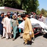 Afghanistan er fortsat ved at efterforske meldinger om, at 40 civile - herunder flere børn - blev dræbt i et luftangreb under den samme operation i Helmand-provinsen den 23. september, der kostede al-Qaeda-lederen livet. Mange af de civile ofre var gæster ved en bryllupsfest. (Arkivfoto)