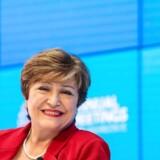 Der var ikke meget at smile ad, da Den Internationale Valutafonds nye chef, Kristalina Georgieva, præsenterede udsigterne for den globale økonomi forud for årsmøderne i IMF og Verdensbanken i Washington.
