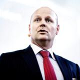 Tonny Thierry Andersen med en fortid i Danske Bank tiltrådte som Nykredit-direktør i juni, men han ved ikke, om han kan blive blåstemplet af Finanstilsynet.