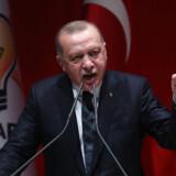 Advarslen fra Erdogan kom, efter at flere EU-lande har kritiseret Tyrkiet for at lancere en militæraktion mod kurdere i det nordlige Syrien.