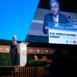 »Klimakrisen bevæger sig hurtigere, end vi selv gør, og overstiger selv de værste prognoser,« sagde FNs generalsekretær, António Guterres, på C40 World Mayors Summit i København.