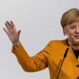 I regeringskredse lyder det angiveligt, at Angela Merkel frygter en konflikt med Kina så meget, at hun er villig til at gå imod USA og lade den omstridte kinesiske telegigant Huawei levere Tysklands 5G-netværk. Arkivfoto: Patrick Seeger/AFP/Ritzau Scanpix