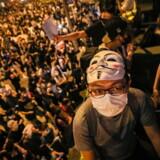 I fire måneder har indbyggerne i Hongkong demonstreret mod Kinas voksende indflydelse.