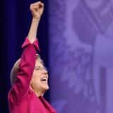 »Der er lang tid til valget, men Biden og Trump er allerede nu gået i hanekamp. (...) To gamle mænd, der slås om at fremstå mest macho og mindst korrupt, hvor det for sidstnævnte i særdeleshed ser svært ud. Hertil står Elizabeth Warren i skarp kontrast – og som et appellerende alternativ,« skriver Steen Jakobsen.