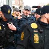 Rasmus Paludan er kendt for at kritisere islam. Her ses han under en demonstration på Nørrebro i København. Hver femte dansker mener, det bør være forbudt at kritisere religion.