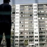 I en ny opgørelse ser Københavns Kommune nærmere på antallet af sigtede 15-25-årige i de syv almene boligområder i kommunen på den såkaldte ghettoliste. Billedet er fra Lundtoftegade.