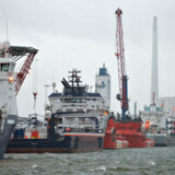 Situationen på havnen i Esbjerg har ikke rykket sig så meget som et bølgeskvulp på trods af Boris Johnsons Brexit-aftale.