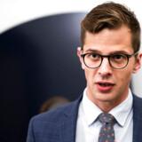 Liberal Alliances politiske leder, Alex Vanopslagh, har svaret på Christina Egelunds kritik af partiet på Facebook. Arkivfoto: Martin Sylvest/Ritzau Scanpix