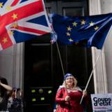 Arkivfoto: Anti-Brexit demonstration i det centrale London.