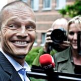 Stein Bagger ved Retten i Lyngby, hvor han blev dømt for det omfattende bedrageri i IT Factory. Arkivfoto: Liselotte Sabroe/Ritzau Scanpix