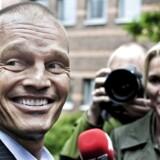 Stein Bagger ved Lyngby Ret, hvor han blev dømt for det omfattende bedrageri i IT Factory. Arkivfoto: Liselotte Sabroe/Ritzau Scanpix