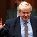 Premierminister Boris Johnson vil ifølge BBC have briterne til valg 12. december. Men det kræver opbakning til et nyvalg fra to tredjedele af Underhuset. Adrian Dennis/Ritzau Scanpix
