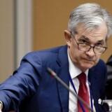 Chefen for den amerikanske centralbank, Jerome Powell, er blevet målet for mange nedsættende tweets fra præsident Trump. Renten bliver ikke sat ned hurtigt nok, mener præsidenten.