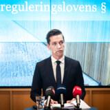 Boligminister Kaare Dybvad Bek (S) præsenterede tirsdag formiddag en rapport om boligreguleringslovens paragraf 5, stk. 2 med forslag om, hvordan man kan dæmme op for voldsomme huslejestigninger.