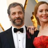 Filmskaberen Judd Apatow er blevet sur på Netflix. Her stiller han op for fotograferne under det amerikanske Oscar-show i 2018.