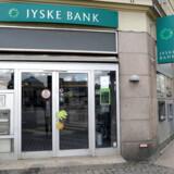 Arkivfoto: Jyske Bank falder tungt på det danske aktiemarked ved handelsstart onsdag.