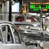 Tysk industri er den økonomiske akilleshæl i euroområdet og er en væsentlig årsag til den lavere samlede vækst. Frankrig trækker den anden vej.