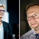 Både Sydbanks topchef, Karen Frøsig, og Jyske Banks topchef, Anders Dam, må endnu en gang se resultatet falde.