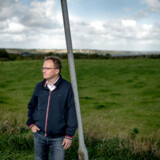 Portræt af Steffen Damsgaard, som er formand for Landdistrikternes Fællesråd.