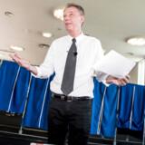 Klaus Riskær Pedersen fortryder, at han efter valgkampen tidligere i år udelukkede muligheden for genopstilling for sit parti.