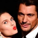 David Gandy, der her står sammen med modelkollegaen Bianca Balti inden et modeshow, er ifølge incel-miljøet et eksempel på den ultimative Chad. Det vil sige en mand øverst i sexhierarkiet – en mand, næsten alle kvinder er interesserede i.