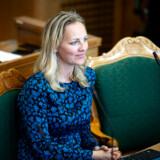 Klimaordfører for Det Radikale Venstre Ida Auken mener, at der skal strammes op i forhold til det notat, som er udleveret til politikerne i forbindelse med forhandlingerne om en ny klimalov. (Arkivfoto)