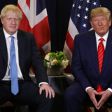 Boris Johnson ser en kende betænkelig ud under et møde med præsident Trump i forrige måned i New York. Og det har han god grund til, viser et interview nu.