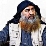 Arkivfoto: På billedet ses afdøde Abu Bakr al-Baghdadi, der indtil sin død var leder af Islamisk Stat. Torsdag blev Abi Ibrahim al-Hashemi al-Qurashi udråbt som ny leder.