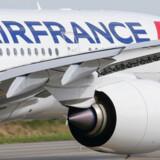Torsdag testede Air France for første gang en ny internetteknologi, der forbedrer internetforbindelsen ombord, så det bliver muligt at game, selv om man befinder sig i 11 kilometers højde. Arkivfoto: Regis Duvignau/Reuters/Ritzau Scanpix