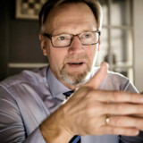 Jyske Banks topchef Anders Dam er blandt de absolut mest pressede i banksektoren. Hidtil har den karismatiske bankdirektør dog formået at brande og kommunikere sig ud af problemerne. Arkivfoto: Thomas Lekfeldt