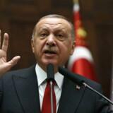 Tyrkiets præsident Recep Tayyip Erdogan.