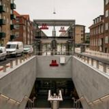 Metrostationen på Skjolds Plads på Nørrebro ligger ikke langt fra det sted, hvor flest klager over støj fra den nye metro i København.