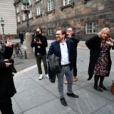 De tidligere profiler for Liberal Alliance Christina Egelund og Simon Emil Ammitzbøll-Bille stifter partiet Fremad, torsdag den 7. november 2019.. (Foto: Philip Davali/Ritzau Scanpix)