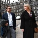 De tidligere profiler for Liberal Alliance Christina Egelund og Simon Emil Ammitzbøll-Bille stifter partiet Fremad 7. november 2019.