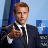 Frankrigs præsident, Emmanuel Macron, mener, at USA er igang med at vende ryggen til Europa. Foto: Ludovic Marin/Reuters/Ritzau Finans