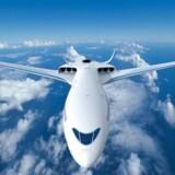 I et samarbejde mellem Airbus og SAS forventer man at kunne sende det første kommercielle hybridfly på vingerne inden for de næste 10-15 år. Deres bud på flyets udseende ser således ud.