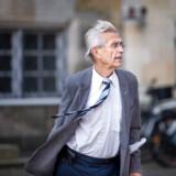Forsvarsadvokat Bjørn Elmquist ankommer til Højesteret.