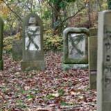 Flere end 80 gravsten var malet med grøn graffiti, og enkelte gravsten var væltet på gravpladsen, der ligger på Østre Kirkegård i Randers søndag den 10. november 2019. Væltede gravsten og gravsten overhældt med grøn maling var det syn, der mødte folk, som lørdag eftermiddag besøgte den jødiske gravplads i Randers.
