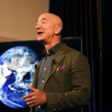 Et lokalvalg i Seattle påkaldte sig landsdækkende opmærksomhed i USA, da techgiganten Amazon blandede sig i valgkampen mod store donationer. Her ses grundlægger og topchef i Amazon Jeff Bezos. Foto: Eric Baradat/ AFP/Ritzau Scanpix
