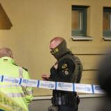 Politiet måtte nok en gang rykke ud til en skudepisode i Malmø mandag aften.
