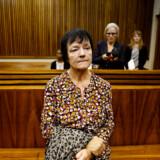 Britta Nielsen, da hun var i retten i Sydafrika. I dag brød hun sammen i retten i København.