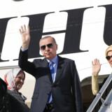 Den tyrkiske præsident, Recep Tayyip Erdogan, på vej til USA for at mødes med Donald Trump.