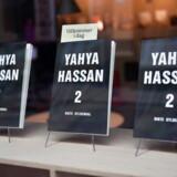 Yahya Hassans anden digtsamling siden hans debut, »Yahya Hassan« i 2013, i ruden ved Gyldendal i København fredag den 8. november 2019.